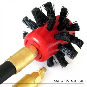 LOCKFAST DRAIN BRUSH